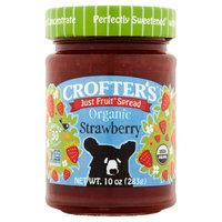 Crofters Food Ltd. Crofters, Fruit Sprd Strawbry Org, 10 Oz (Pack Of 6)