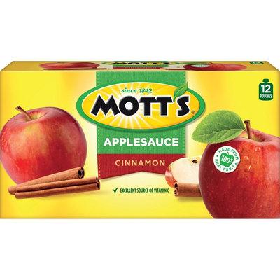 Mott's Snack & Go Cinnamon Applesauce 3.2 oz 12 ct
