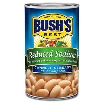 Bush's Best Reduced Sodium Cannellini Beans 15.5 oz