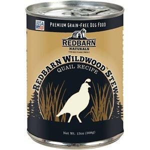 Redbarn Wildwood Quail Stew Recipe Grain-Free Canned Dog Food, 13-oz, case of 12