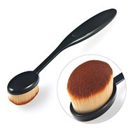 Snowfoller Perfect Makeup Brush for Your Concealer, Contour Kit and Face Powder Foundation Best Oval Makeup Brush