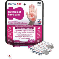 CARPAL AID Designed To Fit On Both Hands 20Pcs