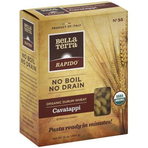 BELLA TERRA 270380 12 oz. Organic Pasta Cavatappi