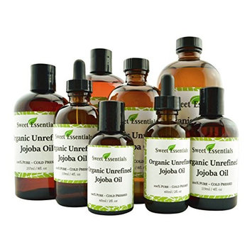 100% Organic Jojoba Oil | Imported From Argentina | Various Sizes | Virgin/Unrefined | Cold Pressed | 100% Pure | Natural Moisturizer for Skin, Hair and Face
