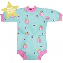Splash About Happy Nappy Apple Daisy Wetsuit - 24 Months Plus