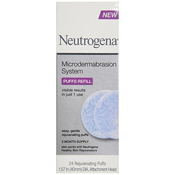 Neutrogena Microdermabrasion System Puff Refills-24 count
