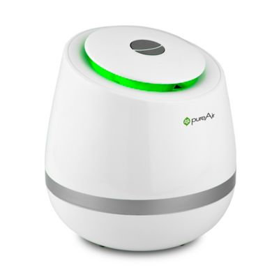 Greentech PUREAIR500 Air Purifier with 650-850 Sq. Ft. Coverage Area Quiet Operation Simple Design Three Advanced Technologies Constant Clean and Burst Settings in
