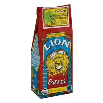 Lion Coffee Coconut Antioxidant Rich Medium Roast Ground Coffee - 7oz