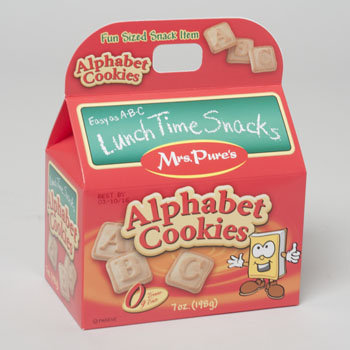 Dollaritemdirect COOKIES HANDLE BOXED ALPHABET 7 OZ QUAKER HILL FARMS, Case Pack of 24