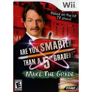 Are You Smarter Than a 5th Grader: Make Grader Wii Game THQ
