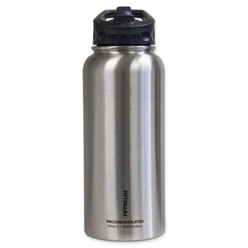 Icy Hot Hydration Icy-Hot Hydration V34002SS0 34 oz Stainless Steel Vacuum Insulated Bottle - Straw Lid - Pack of 4