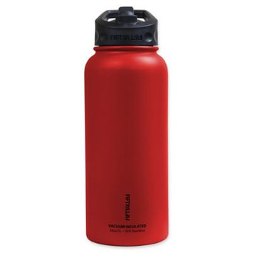 Icy Hot Hydration Icy-Hot Hydration V34002RD0 34 oz Cherry Red Vacuum Insulated Bottle - Straw Lid - Pack of 4