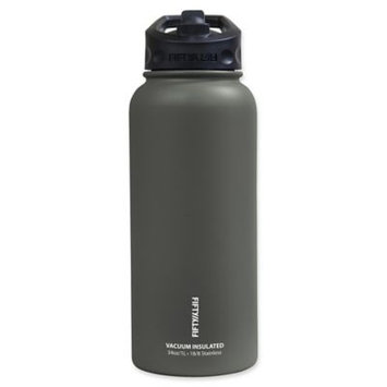 Icy Hot Hydration Icy-Hot Hydration V34002SL0 34 oz Slate Grey Vacuum Insulated Bottle - Straw Lid - Pack of 4