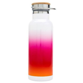 French Bull 18.6oz Water Bottle - Pink Ombre