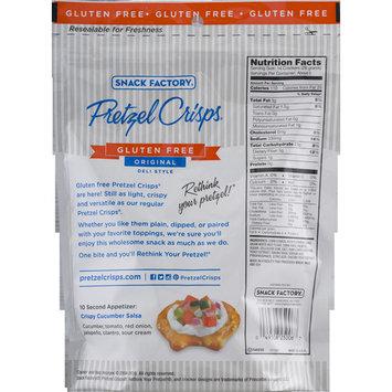 Snack Factory Gluten Free Original Pretzel Crisps, 5 Oz