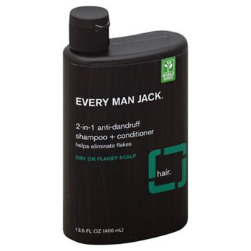 Every Man Jack 2 in 1 AntiDandruff Shampoo