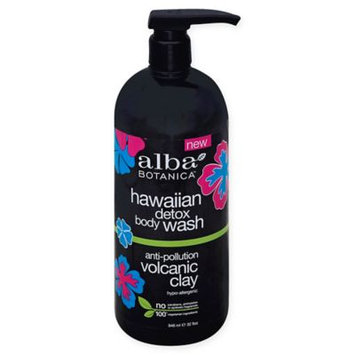 Alba Hawaiian Detox Body Wash Volcanic Clay 32 oz