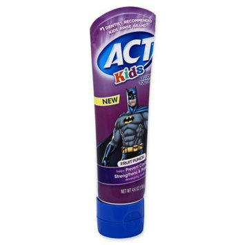 ACT Kids Toothpaste Batman Fruit Punch - 4.6 oz.