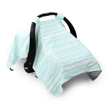 The Peanut Shell Tribal Carrier Cover - Grey and Mint