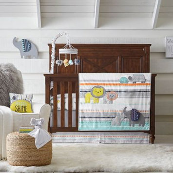 Wendy Bellissimo tm Wendy Bellissimo(TM) Sawyer Jungle 4 Piece Crib Bedding Set