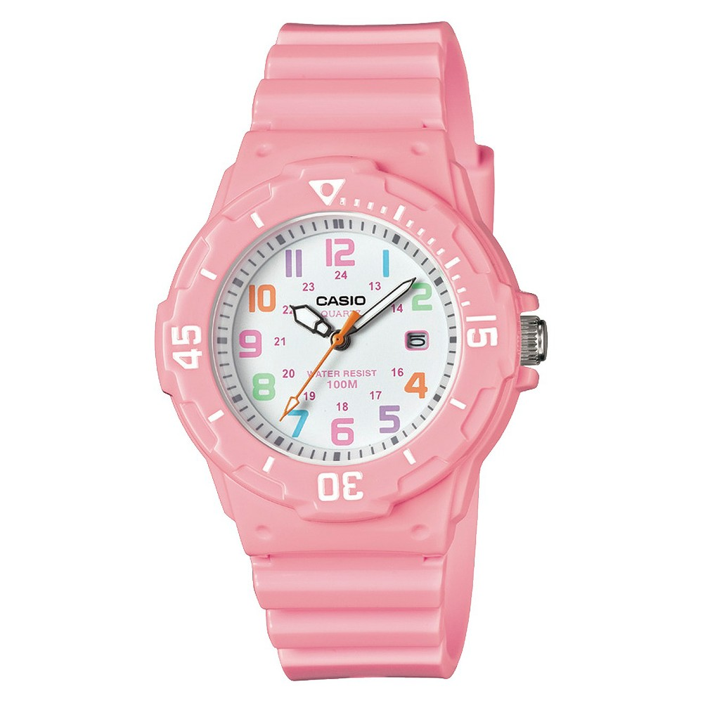 Casio Ladies 3-Hand Analog Watch