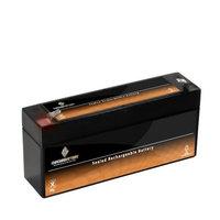 6V 1.3AH Sealed Lead Acid (SLA) Battery - T1 Terminals - for ZB-6-1.3