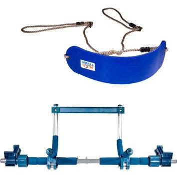 Velex Corp. Dba Gorilla Gym Indoor Swing Package, Blue