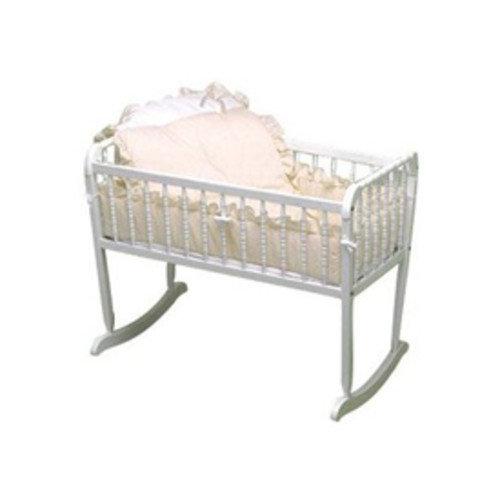 Pretty Pique Cradle Bedding