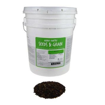Handy Pantry Organic Whole Buckwheat Sprouting Seeds - Buck Wheat Seed - 30 Lb