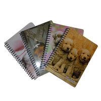 Generic ClassAct 5x7 Puppies Notebook