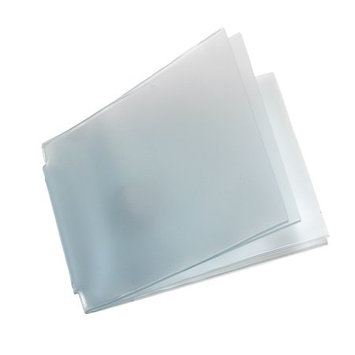Buxton Unisex Vinyl Window Inserts for Billfold Wallets with Wing Bar