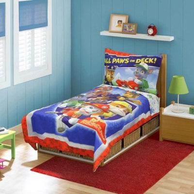 Stevens Baby Boom Nickelodeon Paw Patrol 4 Piece Toddler Bedding Set