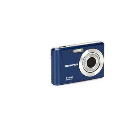 Olympus T-100 Digital Camera (Blue)