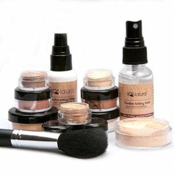 IQ Natural Mineral Makeup Set - 12 Piece Starter Set with Brush [FAIR]