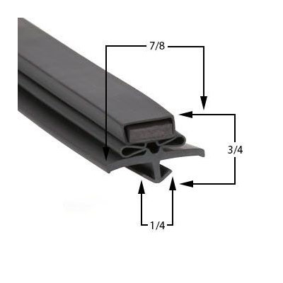 True TUC-60-32HD Door Gasket Part# (810780)