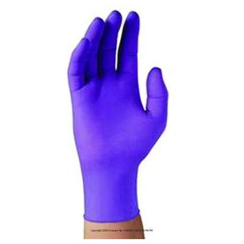 (BX) Purple Nitrile Sterile Pairs Exam Gloves: Beauty