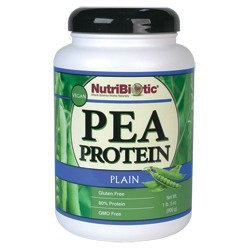 Pea Protein Plain Nutribiotic 21 oz Powder
