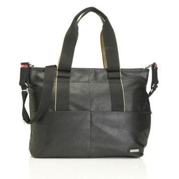 Storksak Eden Vegan Leather Changing Bag, Black