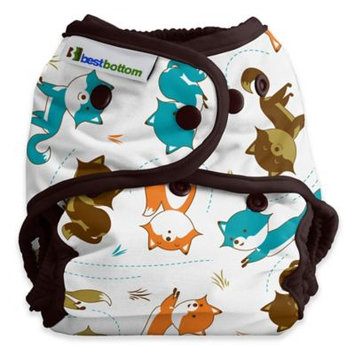 Best Bottom Diapers Best Bottom One-Size Diaper Shell - Snap Foxtrot