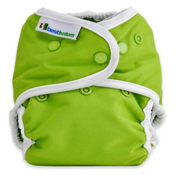 Best Bottom One Size Diaper Shell, Snap, Key Lime Pie