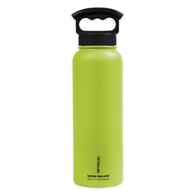Fifty Fifty Fifty/Fifty 40oz Vacuum Insulated W/3 Fing (Lime)