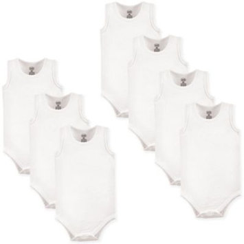 Luvable Friends Unisex Sleeveless Bodysuits, 7-pack
