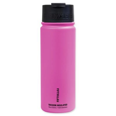 Fifty Fifty Fifty/Fifty 18oz Vacuum Insulated Flip Top (Pink)