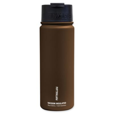 Fifty Fifty Fifty/Fifty 18oz Vacuum Insulated Flip Top (Mocha)