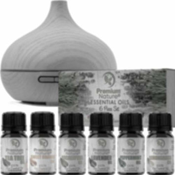 Aromatherapy Essential Oils & Diffuser Gift Set Limited Edition 2.0