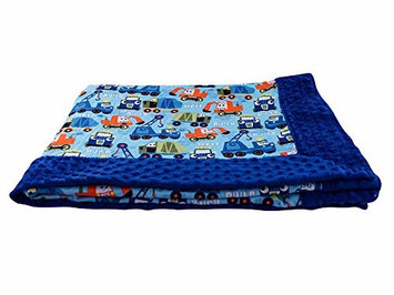 Blue Baby Bum 710560426102 Forever Baby Blanket Pad Build One Size - Multi & Blue
