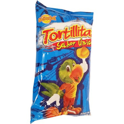 Tortilla Senorial Family Pack Snack 3.5 oz - Chips Paquete Familiar (Pack of 18)