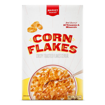 Corn Flakes 18 oz Cereal - Market Pantry, new