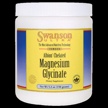 Swanson Albion Chelated Magnesium Glycinate 5.3 oz (150 g) Pwdr