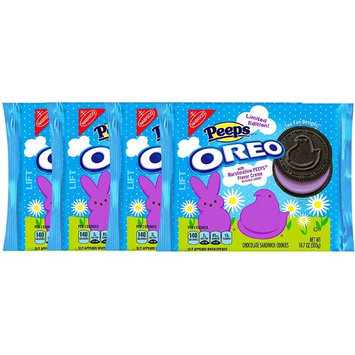 Peeps Oreo With Marshmallow Peep Flavor Creme Limited Edition Easter Snacks Net Wt 10.7 Oz